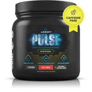 Legion Pulse Caffeine Free Pre Workout