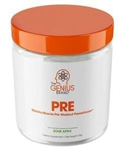 Genius Brand Mind to Muscle Pre Workout