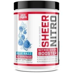 Shiner Nitro Caffeine Free Nitric Oxide Pre Workout