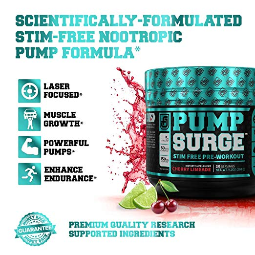 Pump Surge Stim-Free Pre-workout Image