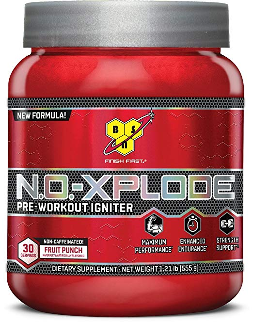 #3. BSN N.O. Explode Pre-Workout Igniter