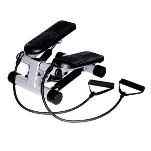 Stair stepper with resistance band