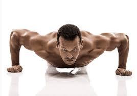 wide push ups