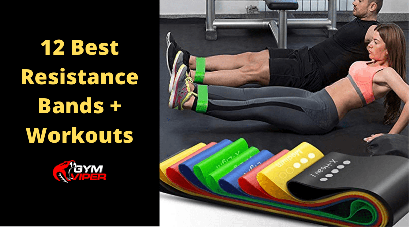 12 Resistance Bands + Workouts