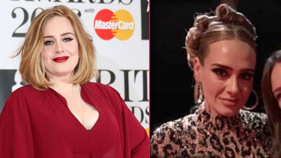 Adele's Before and After weight loss transformation