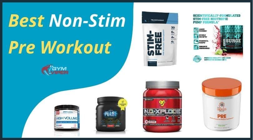 Best Non-Stim Pre Workout
