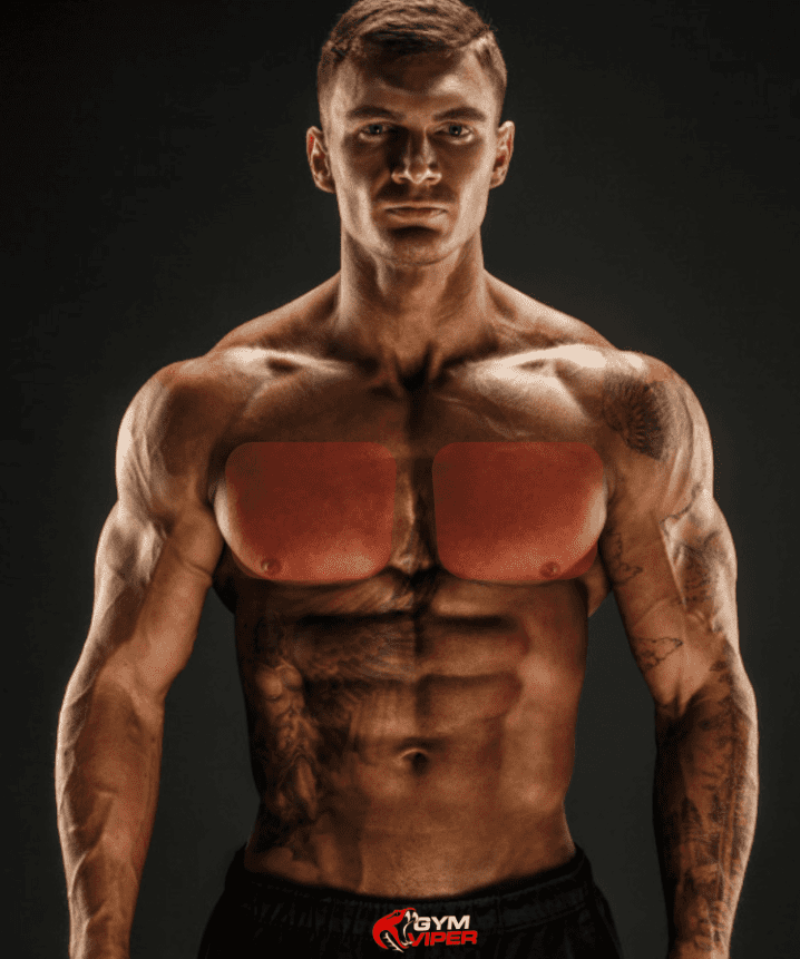 man with big chest