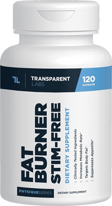 stim-free transparent labs fat burner
