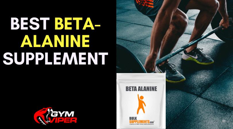Best Beta-Alanine Supplement
