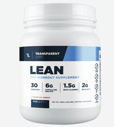 Transparent Labs Preseries Lean Pre-Workout