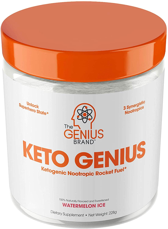The Genius Brand Keto Genius Pure Ketone Powder