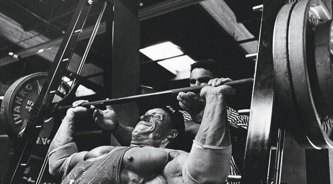 Dorian lifting weights